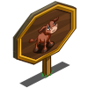 Red Poll Calf Mastery Sign-icon