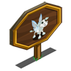 Frosty Fairy Calf Mastery Sign-icon
