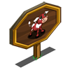 Red Calf Mastery Sign-icon