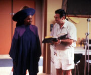 Whoopi Goldberg and Cosmo Genovese