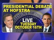 News 12 Long Island&#39;s Island Vote 2012, Presidential Debate At Hofstra Video Promo For Tuesday Night, October 16, 2012