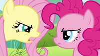 Fluttershy insults Pinkie&#39;s passion for parties S2E19