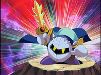 MetaKnight in kirby anime