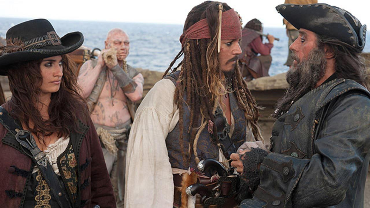 Pirates of the Caribbean On Stranger Tides Extended Super Bowl Spot