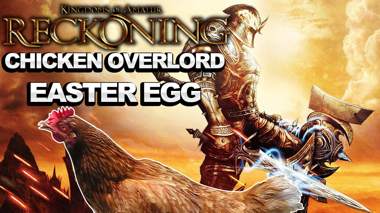 Kingdoms of Amalur Reckoning Chicken Overlord Easter Egg