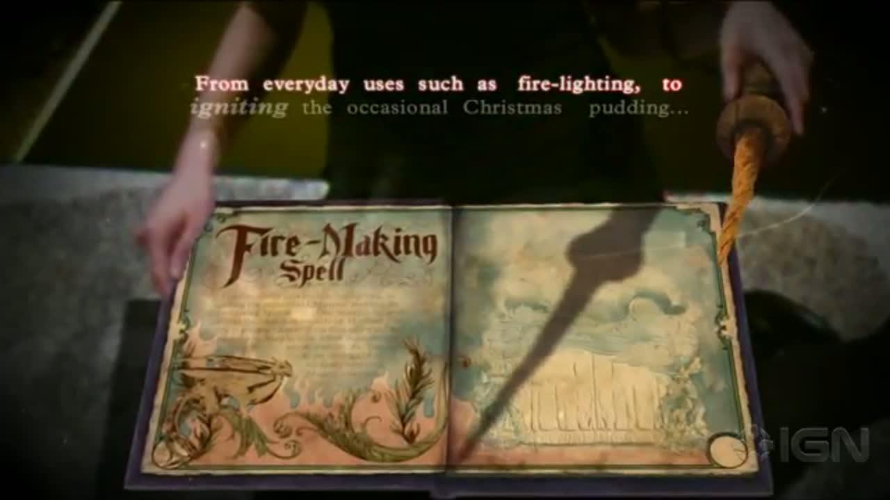 Book of Spells Fire Game Demo - E3 2012