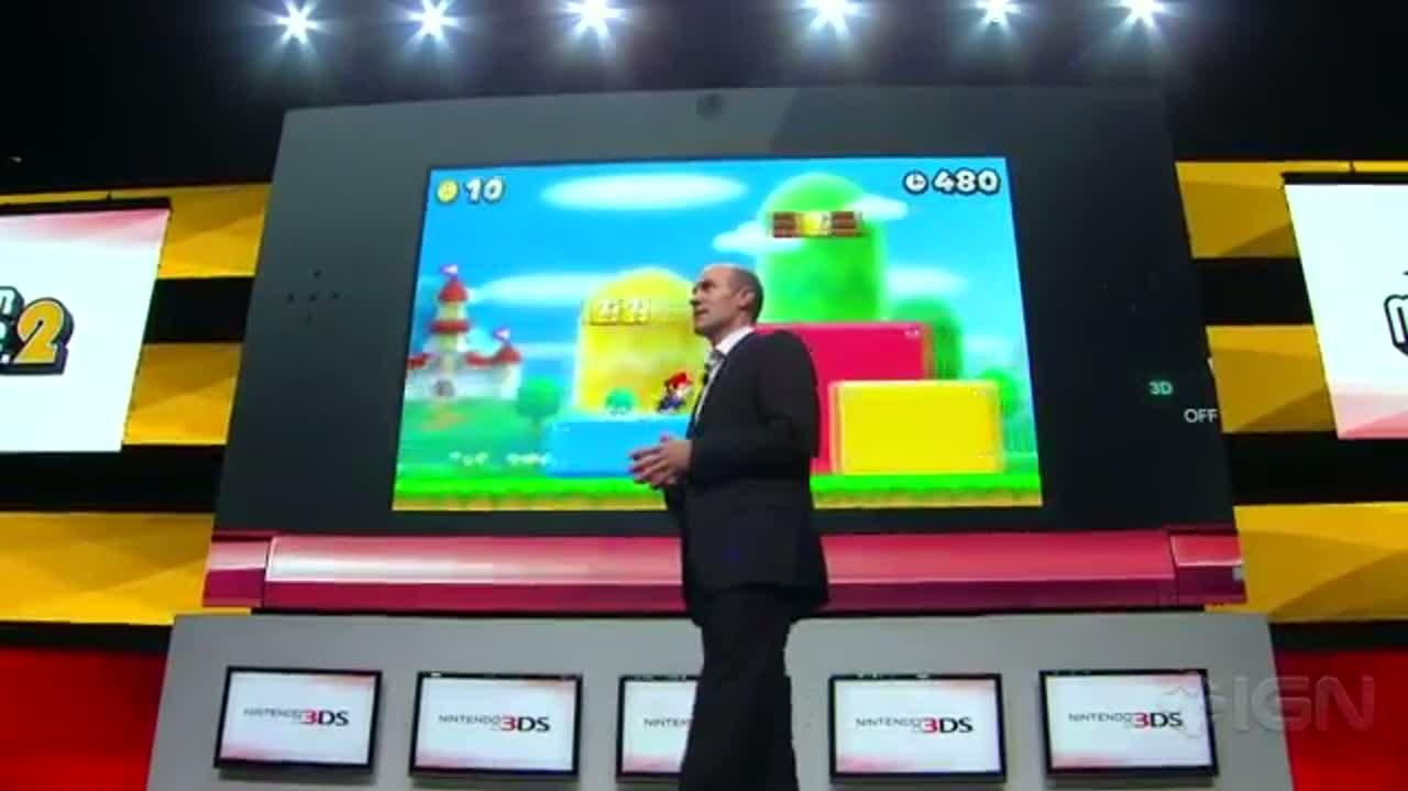 New Super Mario Bros. 2 - 3DS Gameplay - E3 2012