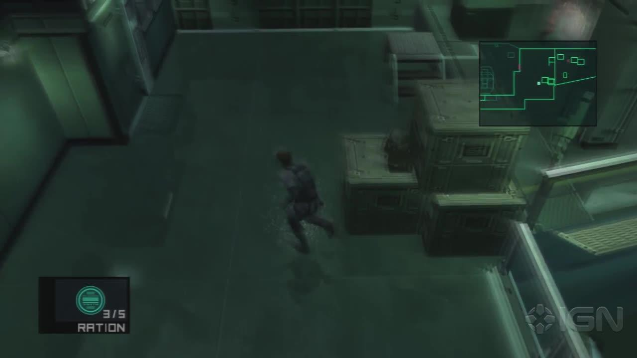 Metal Gear Solid 2 HD - Engine Room - Gameplay