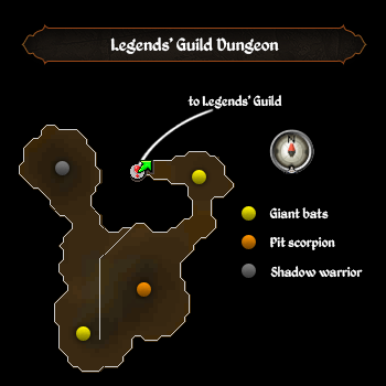 Legends guild basement