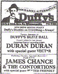 Duffy's Minneapolis 26th Avenue South and East 26th Street, Minneapolis, Minnesota wikipedia duran duran