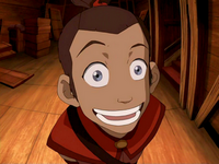 Sokka looking goofy
