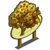 Yellow Rowan Tree Mastery Sign-icon