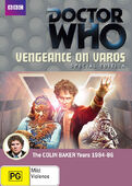 Vengeance on varos special edition australia dvd