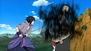 Sasuke intenta matar a Danzo