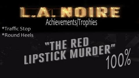 LA Noire - Walkthrough Part 4 Red Lipstick Murder Gameplay