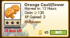 Orange Cauliflower Market Info