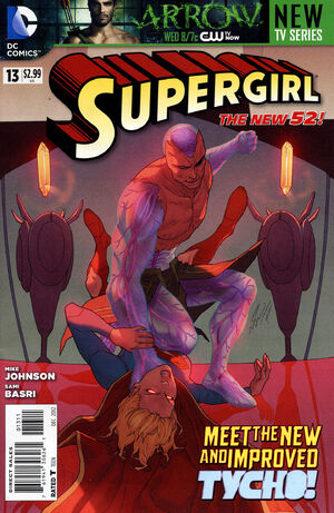 Cover for Supergirl #13