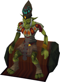 High priest goblin