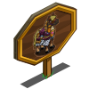 Armored Horse Mastery Sign-icon