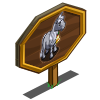 Big Golden Bell Pony Mastery Sign-icon