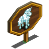 Cloud Unicorn Foal Mastery Sign-icon