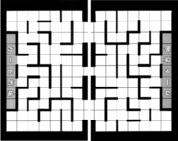 Labyrinth game grid