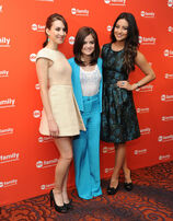 Lucy, Troian and Shay
