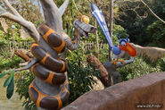 Kaa and Zazu