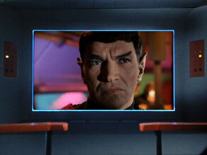 Romulan Commander on Enterprise Viewer