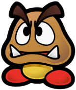 Goomba Artwork (The Thousand-Year Door)
