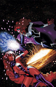 Starfire vs Blackfire