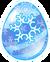 Huevo del Dragón Copo de Nieve