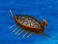 Turtle ship