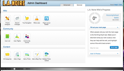 Admin Dashboard