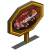 Red Spotted Toad Mastery Sign-icon