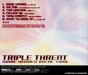 Triple Threat back cover art