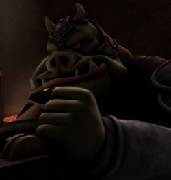 Unidentified Gamorrean 2 (Nal Hutta)