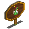 Giant Elf Chicken Mastery Sign-icon