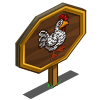 Pilgrim Chicken Mastery Sign-icon