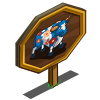 Flower Bull Mastery Sign-icon