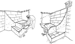 Fixed reflector for solar oven, Joel Goodman, 10-24-12
