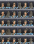 DW7E Female Hair - Pt2 - 16-30