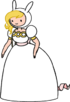 Fionna in Dress with Purse