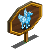 Snowflake Pegasus Mastery Sign-icon