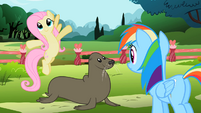 Fluttershy &#39;ten feet of air&#39; S2E07