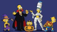 Viva La Halloween - Simpsons