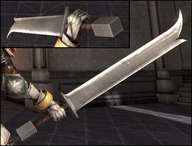 DA2 Red Earth Long One - longsword