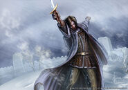 Mance Rayder by Henning Ludvigsen, Fantasy Flight Games