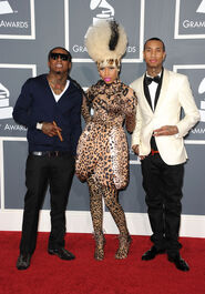 Tyga+Nicki+Minaj+53rd+Annual+GRAMMY+Awards+9gq B9OYkDtl