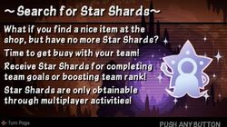 Search for Star Shards